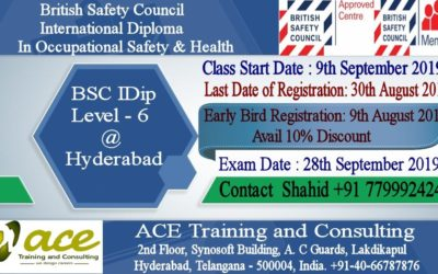 BSC IDip – Level 6 at Hyderabad